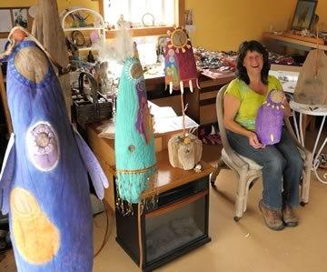 Julie in Studio